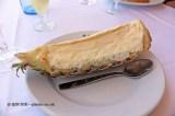 Pineapple ice cream, La Pepica, Valencia