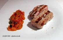 Chuleta de Lomo Bajo de vacuno mayor (sirloin steak), Askua, Valencia