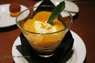 Traditional Valencian orange-based dessert, Casa Montaña, Valencia