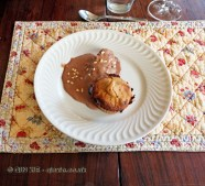 Peanut caramel cake, Quinta de la Rosa, Douro Valley