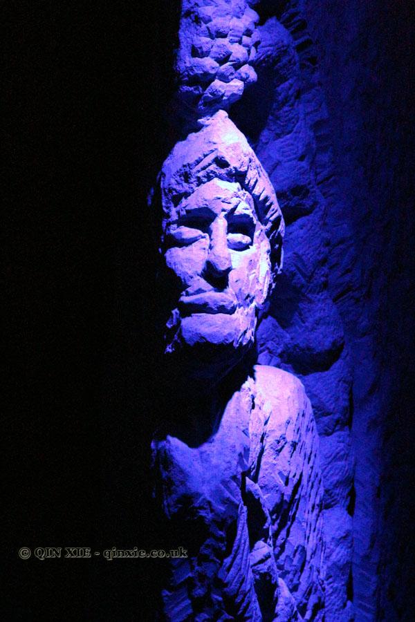 Stone person, Domaine Bourillon Dorléans, Vouvray
