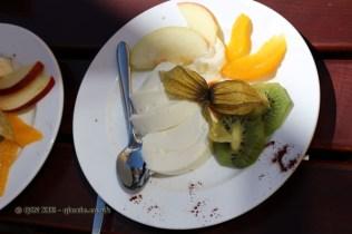 Vanilla panna cotta at Gutsschänke Meersburg, Food in Baden-Württemberg