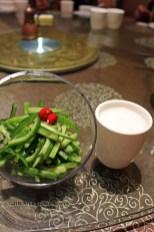 Cucumber salad, Vegan Restaurant, Chengdu