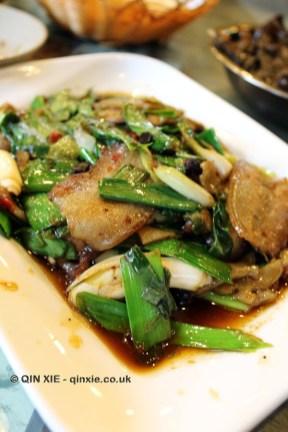 Twice cooked pork, Tian Yuan Yin Xiang, Chengdu