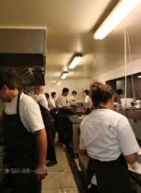 Inside kitchen, Boragó, Santiago, Chile