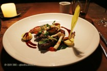 Wagyu steak, mushroom, red wine jus, Table No 1 by Jason Atherton, Shanghai