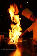Chef cooking, 57 Xiang, Chengdu, China