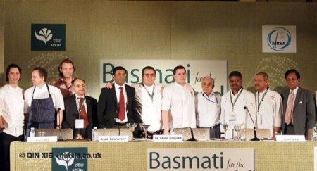 Chefs at APEDA basmati rice conference