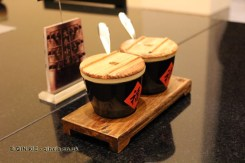 Condiments with soy sauce and vinegar, Qin Restaurant of Real Love, Xian, China