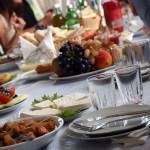 Lunch feast in Georgia