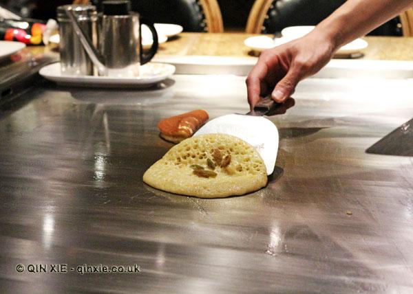 Sultana pancakes, 57 Xiang, Chengdu, China