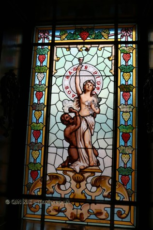 Stained glass window, Ramos Pinto, Oporto