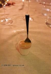 Panna cotta with dulce de leche, Osteria Cantine Cattaneo, Sestri Levante