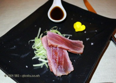 Small Tataki of red tuna, Osteria Cantine Cattaneo, Sestri Levante