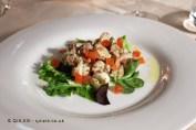 Warm seafood salad, Palmaria, Portovenere
