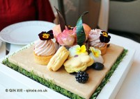 Pastries, Scents of Summer Afternoon Tea at Wellington Lounge