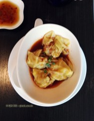 Spicy Szechuan wontons at Yauatcha City, London