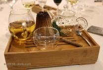 Fresh mint tea, #AtxaAndreRicard at Azurmendi, Larrabetzu
