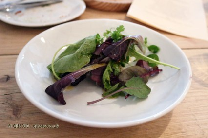 A sequence of herbs, pickles and dressings, Oswaldo Oliva at Carousel