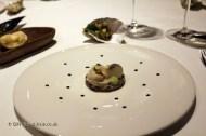 Oyster, tartar and gelee, Azurmendi