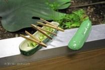 Pickled courgette, Azurmendi