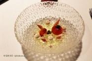 Tomato and eel, Azurmendi