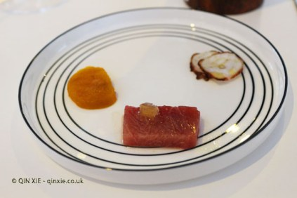 Dry octopus and other dishes, Quique Dacosta, Denia