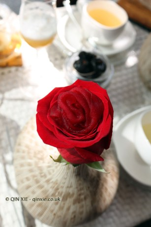 Petals of roses, Quique Dacosta, Denia