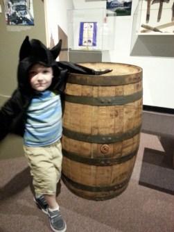 Bats and bourbon barrel