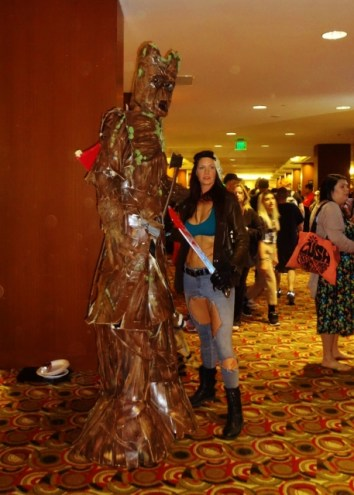 Groot and friend