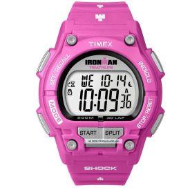 Timex Women's Ironman Watch: Pink Band/Gray Dial (T5K432)