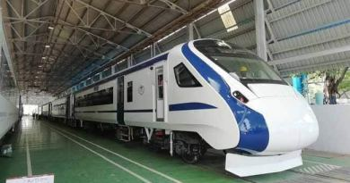 Fastest Train of India Train 18 speed route cost