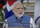 Erna solberg Addressing Press with Modi