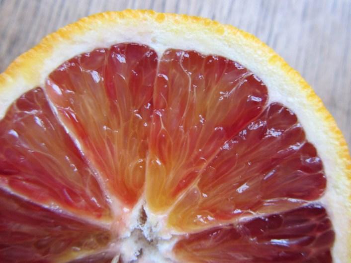 Blood orange crescent