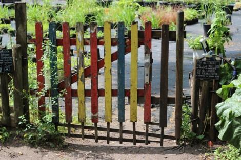 Princezzinnen Garten gate