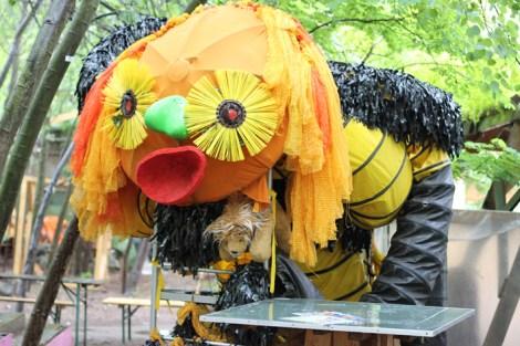 Princezzinnen Garten large puppet