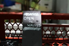 Princezzinnen Garten open vs walled