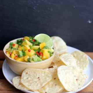 Sweet and Spicy Mango-Avocado Salsa