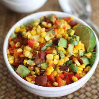 Bacon, Corn and Avocado Salad