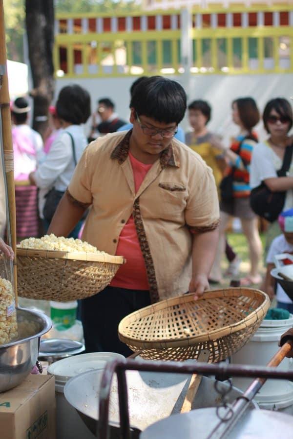 Thailand Tourism Fair_kettle corn