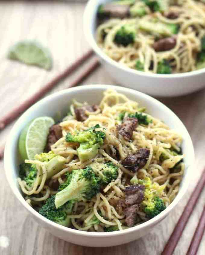 Beef and Broccoli Noodles
