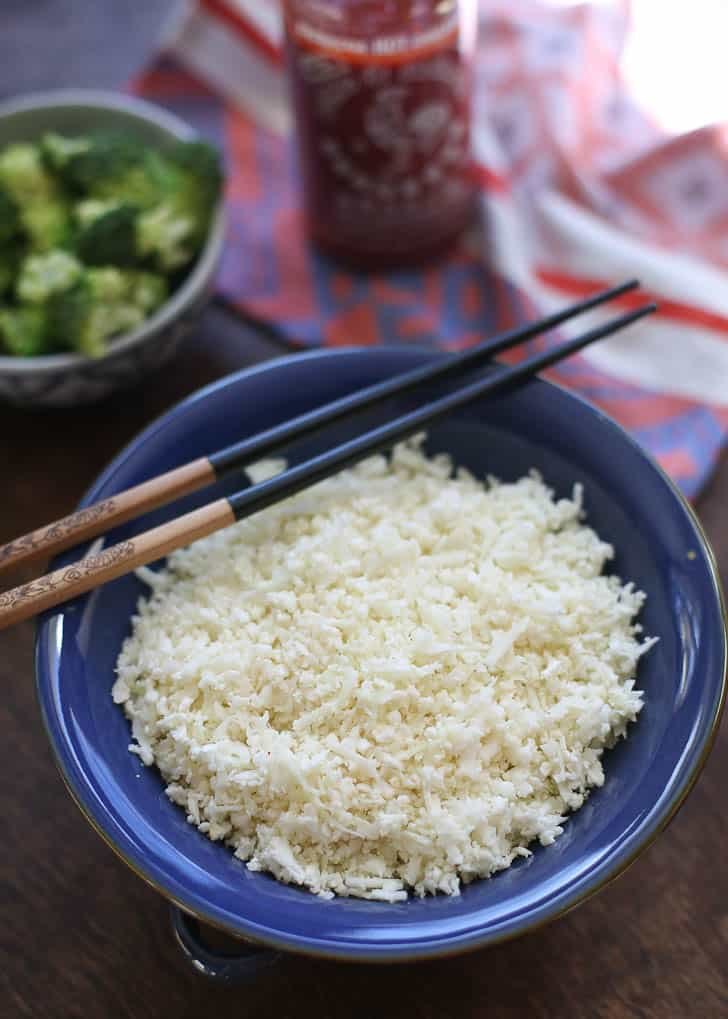 Light and Fluffy Cauliflower Rice