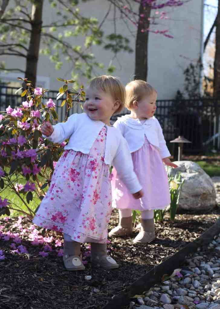 Molly and Clara_Easter 2016