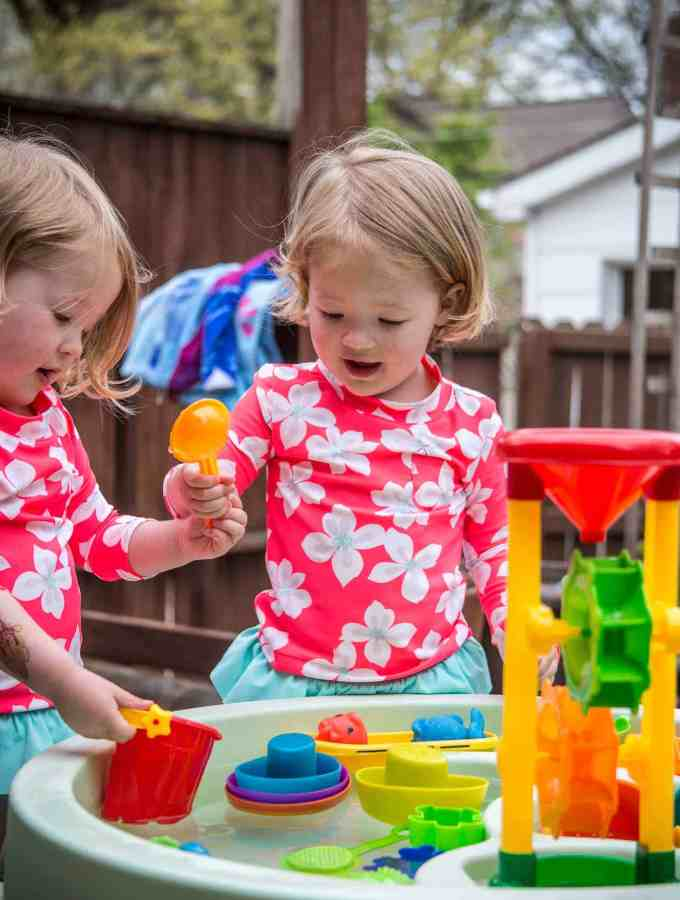 Molly and Clara – 3 Years
