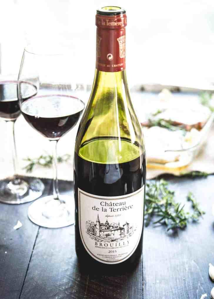 Beaujolais Brouilly Wine