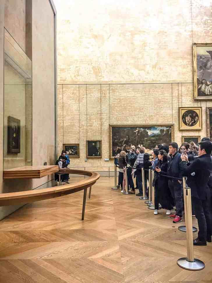 Paris France Mona Lisa