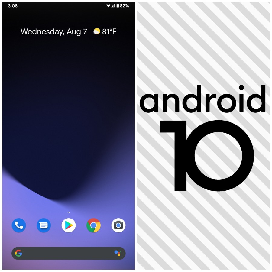 The history of Android 10
