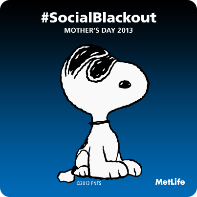 #SocialBlackout Badge