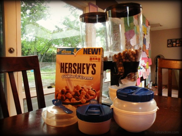 General Mills Hersheys Cookies & Cream cereal