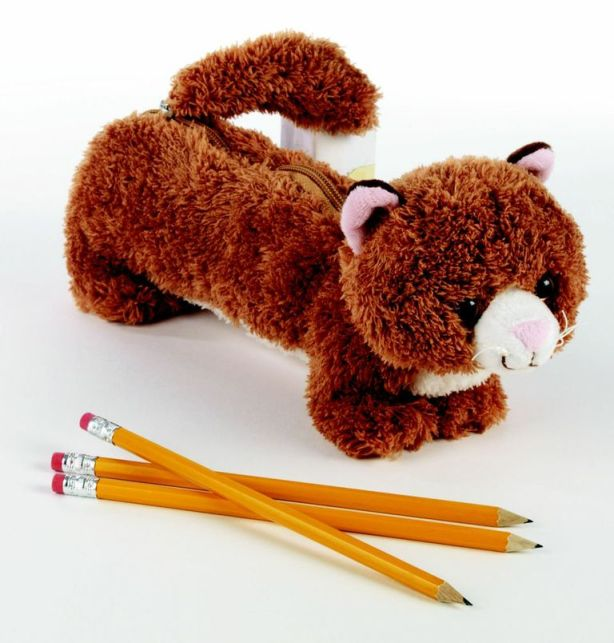 Staples Woodland Animal Pencil Pouch